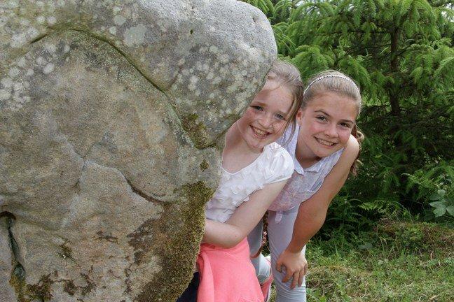 Blacklion girls Danielle McLoughlin and Laura O'Donnell